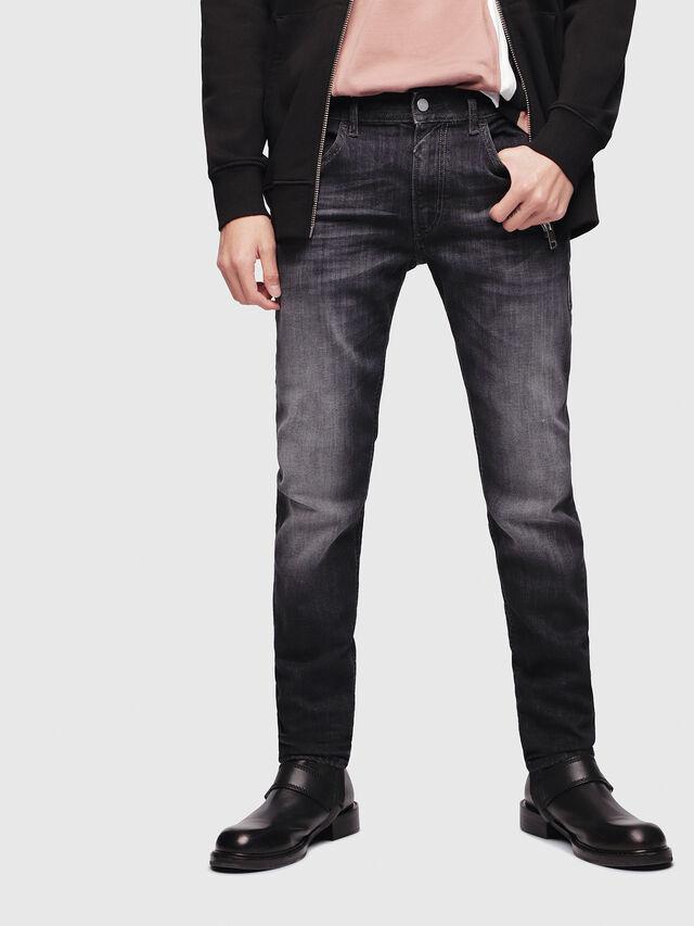Diesel - Thommer 087AM, Nero/Grigio scuro - Jeans - Image 1