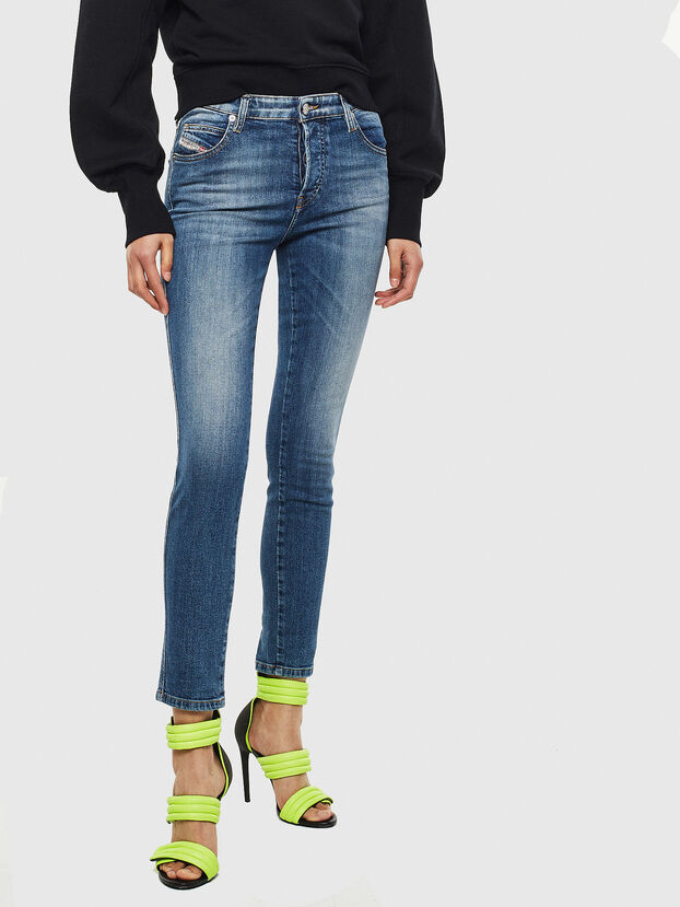 Babhila 069JQ, Blu medio - Jeans