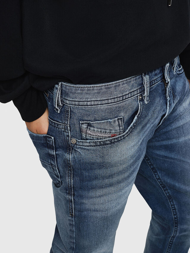 Diesel - Thommer 0853P, Blu medio - Jeans - Image 3