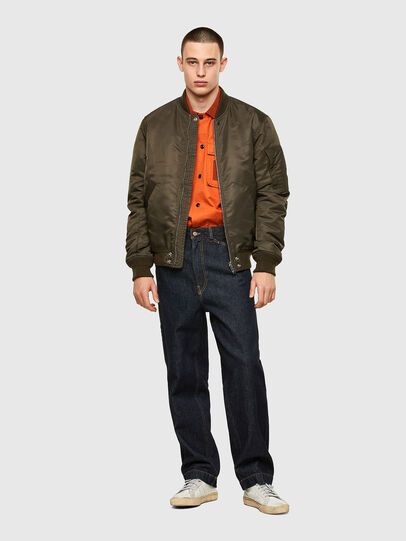 Diesel - S-GUNN, Arancione - Camicie - Image 4
