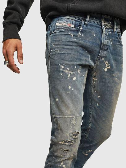 Diesel - Thommer JoggJeans 0870X, Blu medio - Jeans - Image 3
