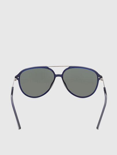 Diesel - DL0352, Blu - Occhiali da sole - Image 4