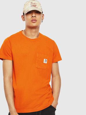 T-WORKY-MOHI-S1, Arancione - T-Shirts