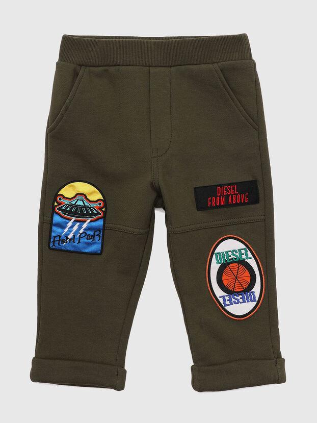 POLBYPATCHESB, Verde Militare - Pantaloni