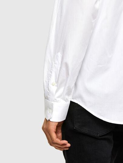 Diesel - S-WEIR, Bianco - Camicie - Image 4