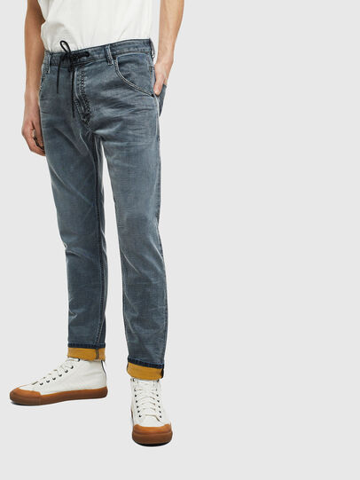 Diesel - Krooley JoggJeans 069LT, Blu Scuro - Jeans - Image 1