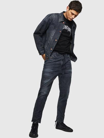 Diesel - D-Vider JoggJeans 0090H, Blu Scuro - Jeans - Image 5