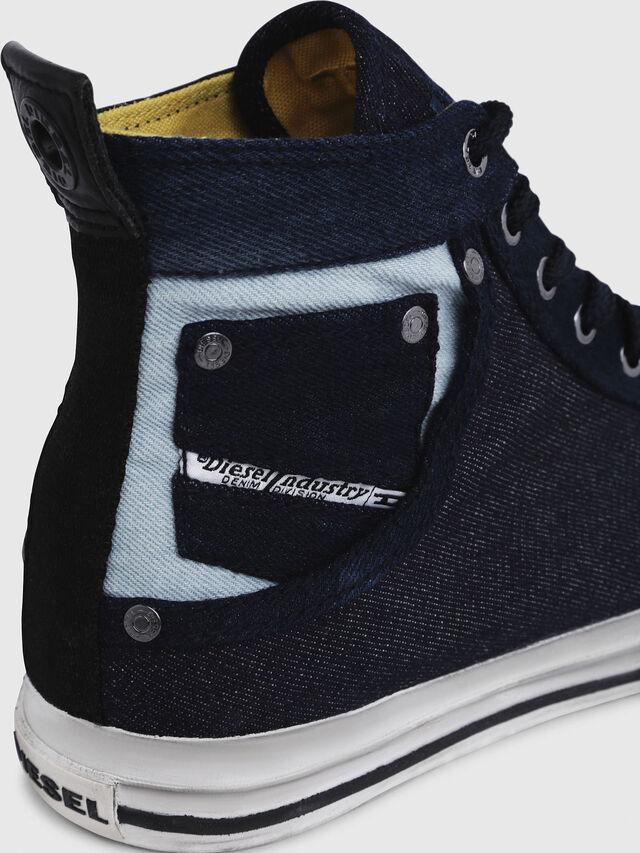 Diesel - EXPOSURE I, Blu Scuro - Sneakers - Image 5