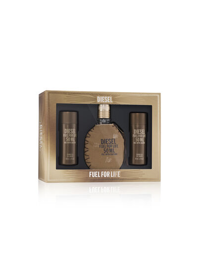 Diesel - FUEL FOR LIFE 50ML GIFT SET, Marrone - Fuel For Life - Image 1