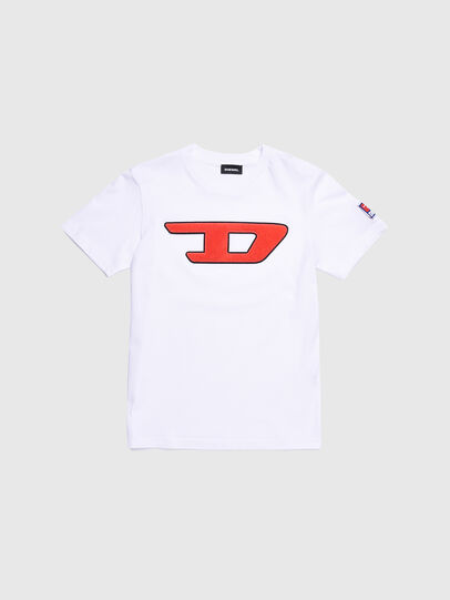 Diesel - TJUSTDIVISION-D, Bianco - T-shirts e Tops - Image 1