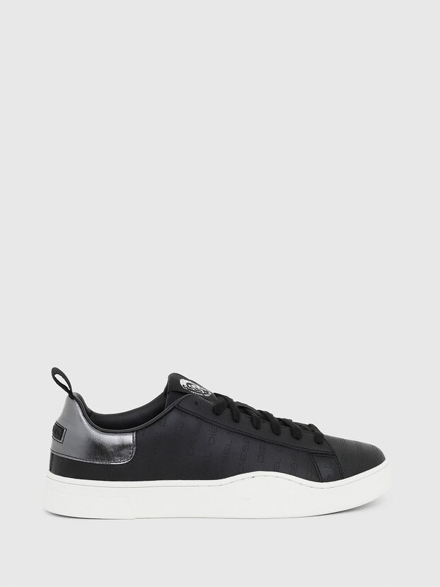 S-CLEVER LOW LACE, Nero/Argento - Sneakers