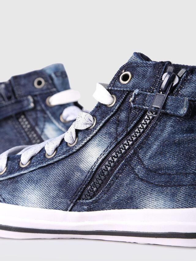 Diesel - SN MID 20 EXPOSURE C, Blu Jeans - Scarpe - Image 4