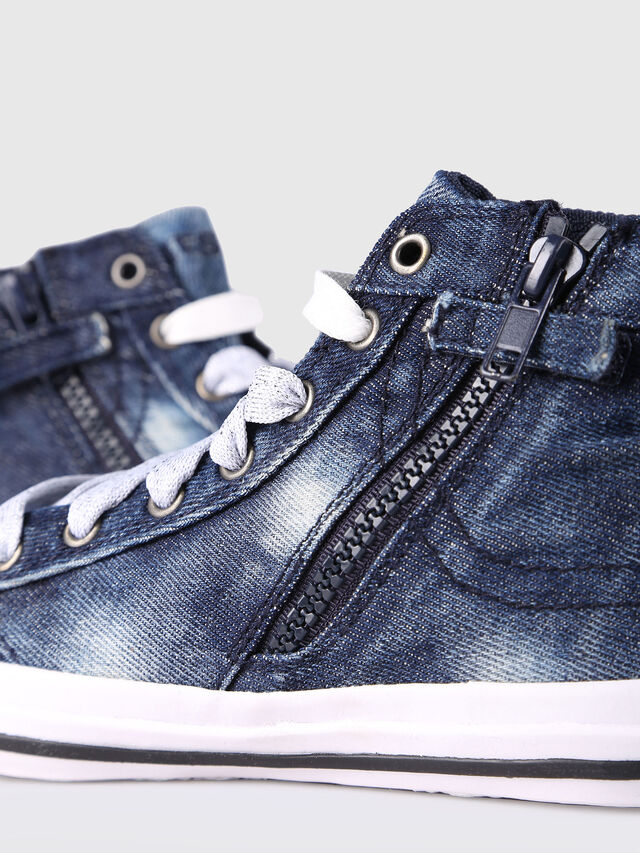 Diesel - SN MID 20 EXPOSURE Y, Blu Jeans - Scarpe - Image 4