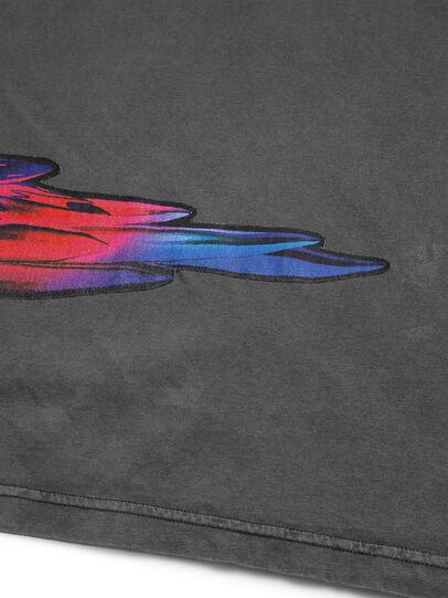 Diesel - D-5055-G, Nero - T-Shirts - Image 5
