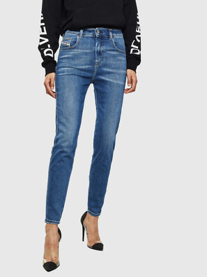 Slandy High 009AG, Blu medio - Jeans