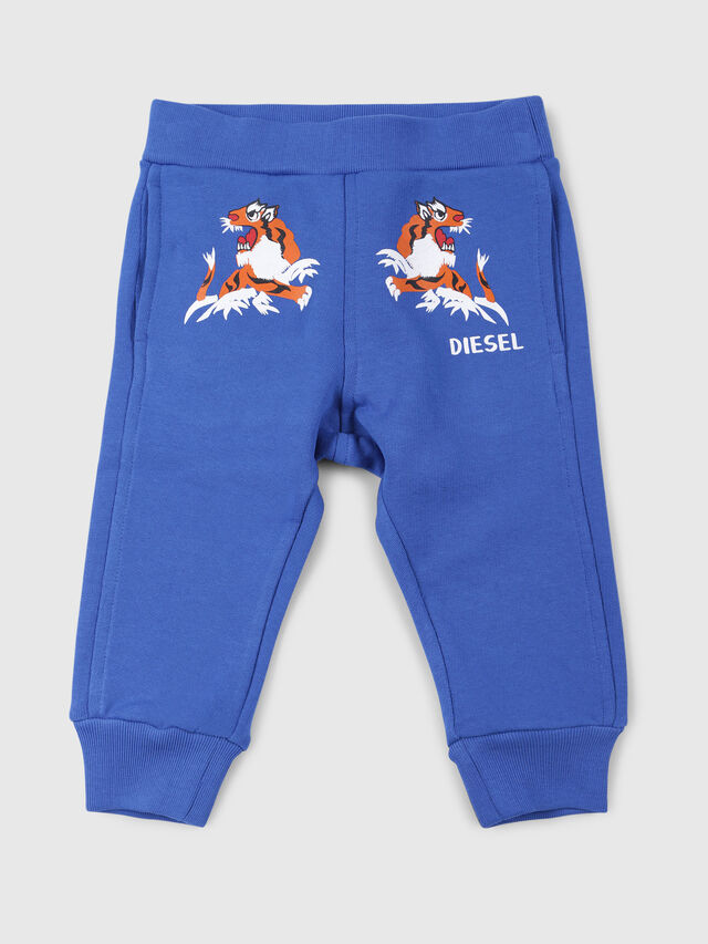 Diesel - PUXXEB, Blu Ceruleo - Pantaloni - Image 1