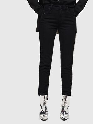 Babhila 0NAZH, Nero/Grigio scuro - Jeans