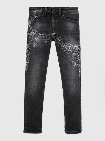 Diesel - THOMMER-J, Nero/Grigio scuro - Jeans - Image 1