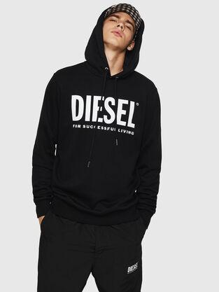 a5f3e87163 Felpe Uomo Diesel con o senza cappuccio | Diesel Online Store