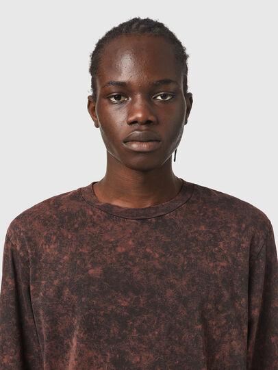 Diesel - T-GLYN, Nero/Marrone - T-Shirts - Image 3