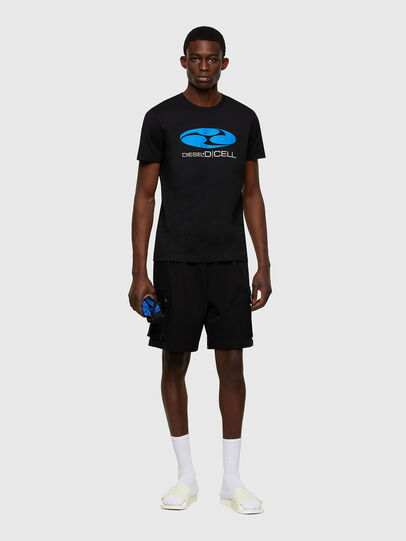 Diesel - P-PRONE, Nero - Shorts - Image 4