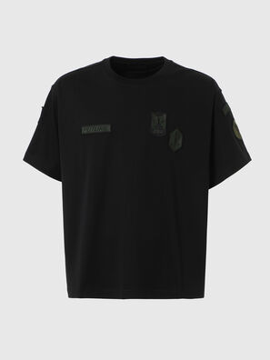 T-CROLF, Nero - T-Shirts