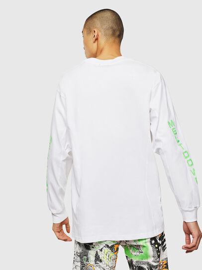 Diesel - T-GLYNIS-J1, Bianco - T-Shirts - Image 3
