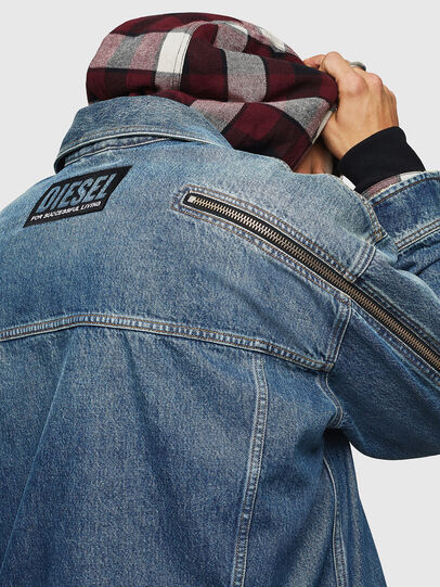 Diesel - D-LORY,  - Giacche in denim - Image 4