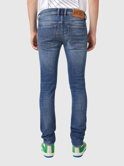 Diesel - Sleenker 09A86, Blu Chiaro - Jeans - Image 2