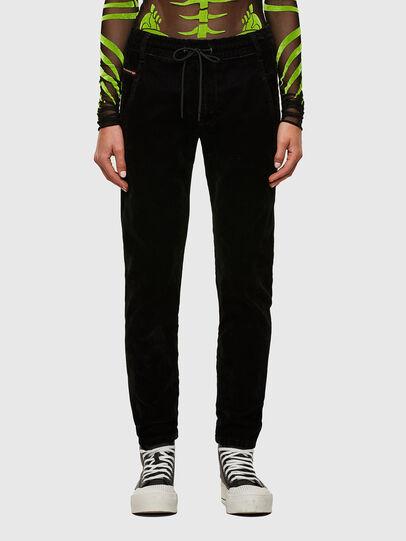 Diesel - Krailey JoggJeans® 069TB, Nero/Grigio scuro - Jeans - Image 1