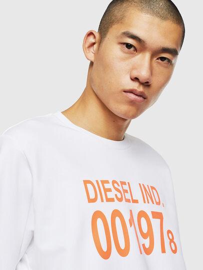 Diesel - S-GIRK-J3, Bianco - Felpe - Image 3
