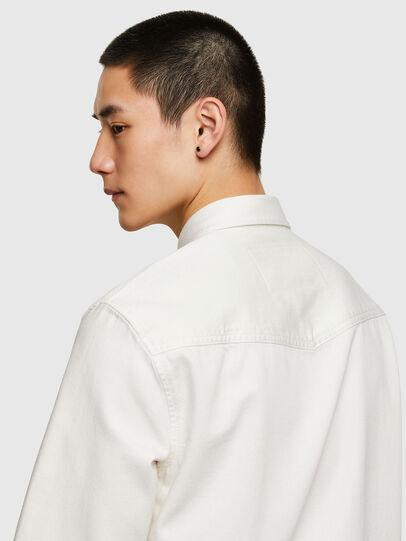 Diesel - D-EAST-P1, Bianco - Camicie in Denim - Image 3