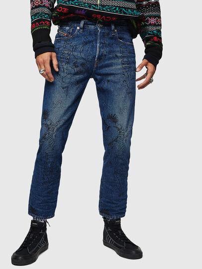 Diesel - Mharky 0078S, Blu medio - Jeans - Image 1
