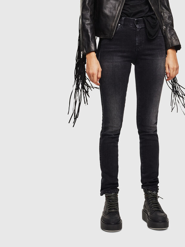 Sandy 0096P, Nero/Grigio scuro - Jeans