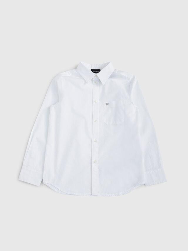 Diesel - CSMOI, Bianco - Camicie - Image 1
