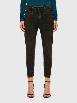 Fayza JoggJeans 009HM, Nero/Grigio scuro - Jeans