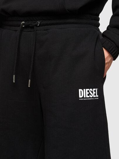 Diesel - P-CROWN-LOGO, Nero - Shorts - Image 3