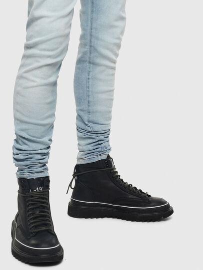 Diesel - D-Amny 009BE, Blu Chiaro - Jeans - Image 4
