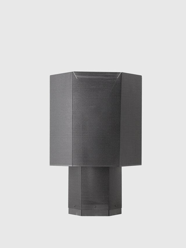 Diesel - HEXX TAVOLO, Antracite - Lampade da Tavolo - Image 1
