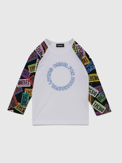 Diesel - TENTYB-R, Bianco - T-shirts e Tops - Image 1