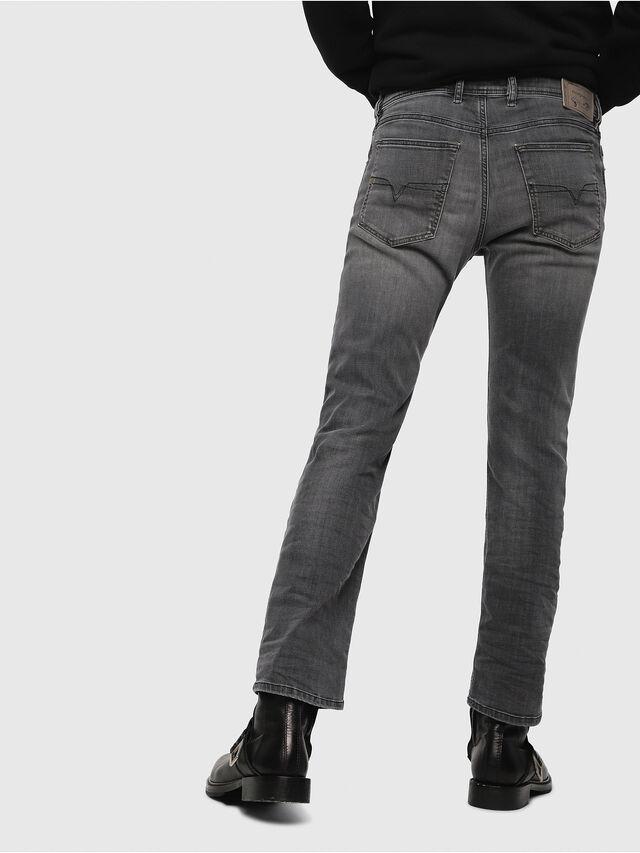 Diesel - Waykee 0662U, Nero/Grigio scuro - Jeans - Image 2