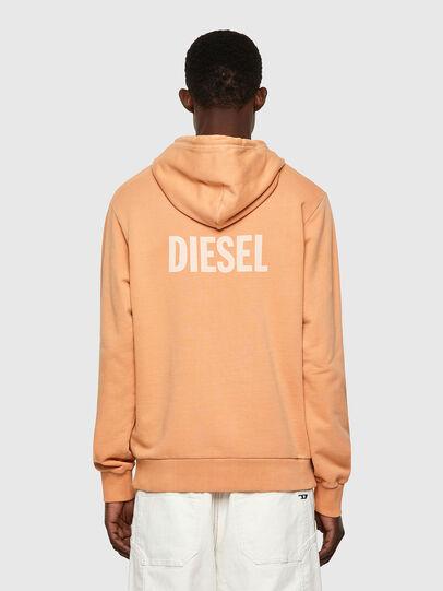 Diesel - S-GIRK-HOOD-B3, Arancione - Felpe - Image 2