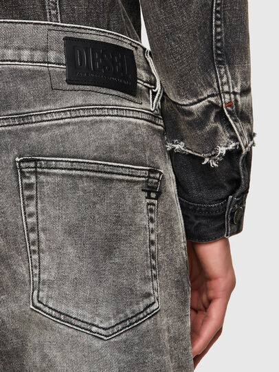 Diesel - D-Strukt 009KA, Grigio Chiaro - Jeans - Image 3