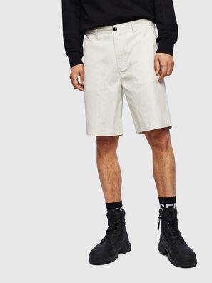 P-MATTHEW, Bianco - Shorts