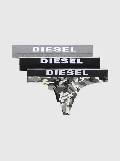 Diesel - UMBR-STRINGTHREEPACK, Grigio/Nero - Slip - Image 4