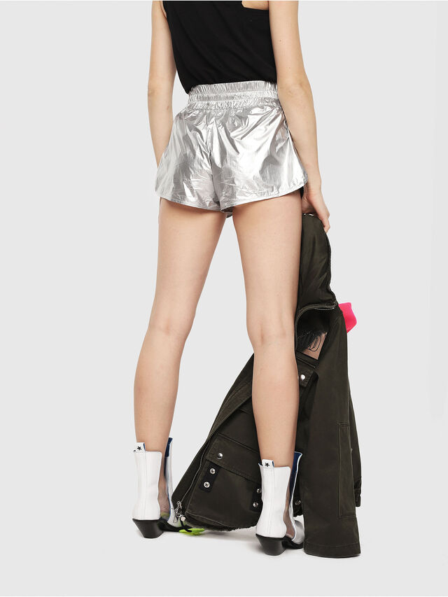 Diesel - S-DEMIBY, Argento - Shorts - Image 2