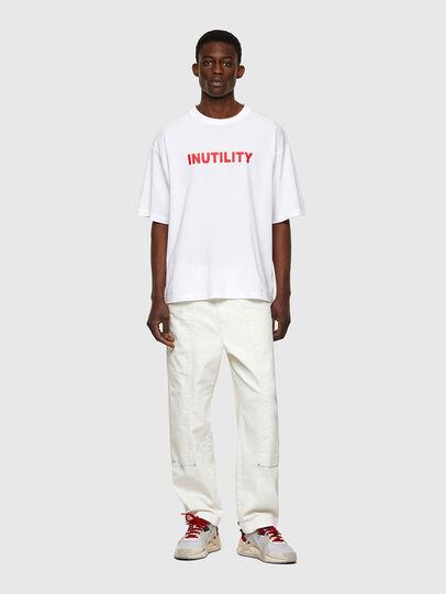 Diesel - T-BALM-B1, Bianco - T-Shirts - Image 4