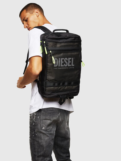 Diesel - MALU, Nero/Blu - Zaini - Image 6