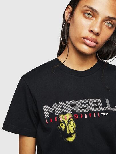 Diesel - LCP-T-DIEGO-MARSELLA, Nero - T-Shirts - Image 4