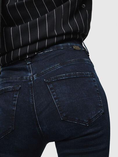 Diesel - Slandy High 082AU, Blu Scuro - Jeans - Image 3